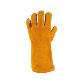 Gants de protection courts en cuir pour soudeurs KS TOOLS