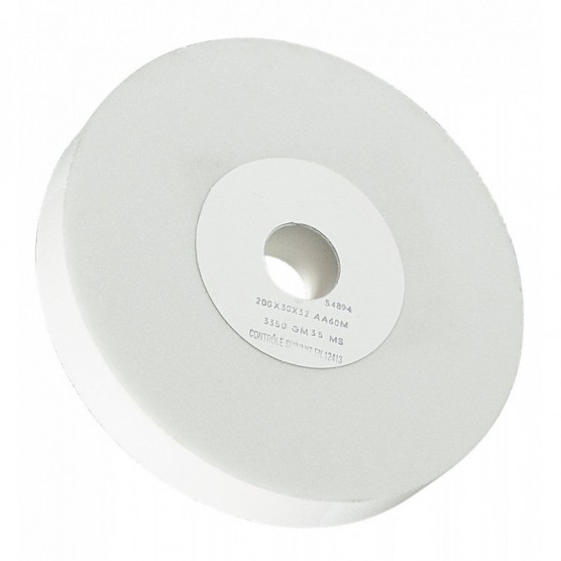 Meule d'affûtage pour Touret à Meuler Grain AA60M Dimension 250x30x32 SIDAMO