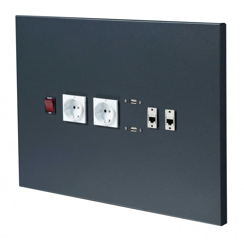 Panneau pour connectiques électriques KS TOOLS