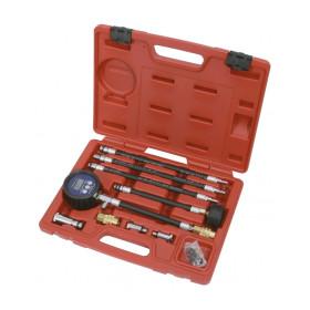 Compressiomètre et testeur d'étanchéité de cylindre - Essence KS TOOLS