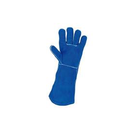 Gants de protection long en cuir pour soudeurs KS TOOLS