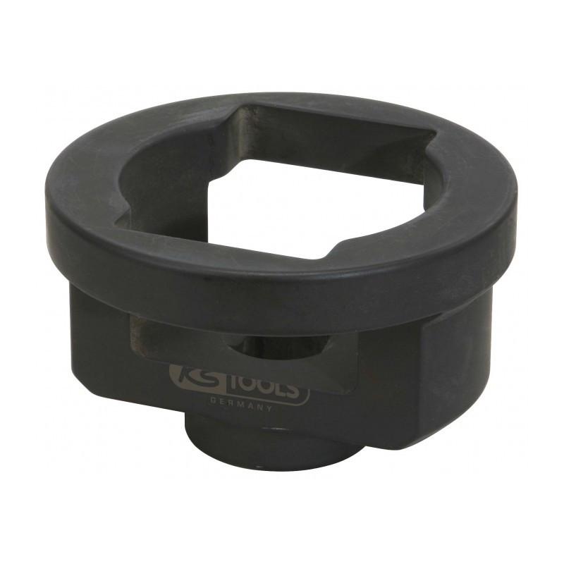 Douille ovale pour écrou de moyeu - Spécial BPW 65 mm et 80mm KS TOOLS