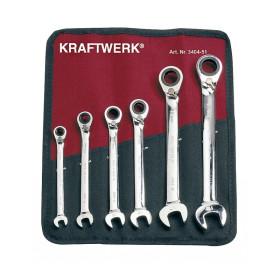 Trousse de 6 Clés à Cliquet Reversibles ClicKraft KRAFTWERK