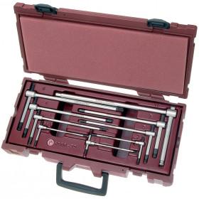 Coffret de clés mâles en T 6 pans creux KRAFTWERK