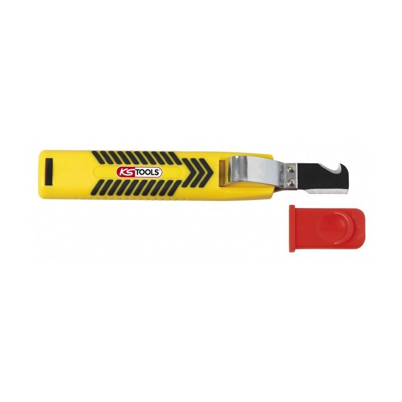 Couteau à dégainer pour câbles de 8 à 28 mm KS TOOLS