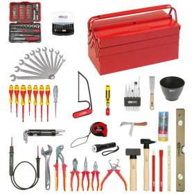 Composition d'outils électricien 137 pièces KS TOOLS