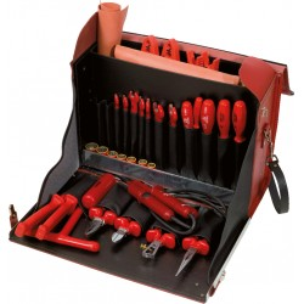 Sacoche d'outils d'électricien, 36 pièces KS TOOLS
