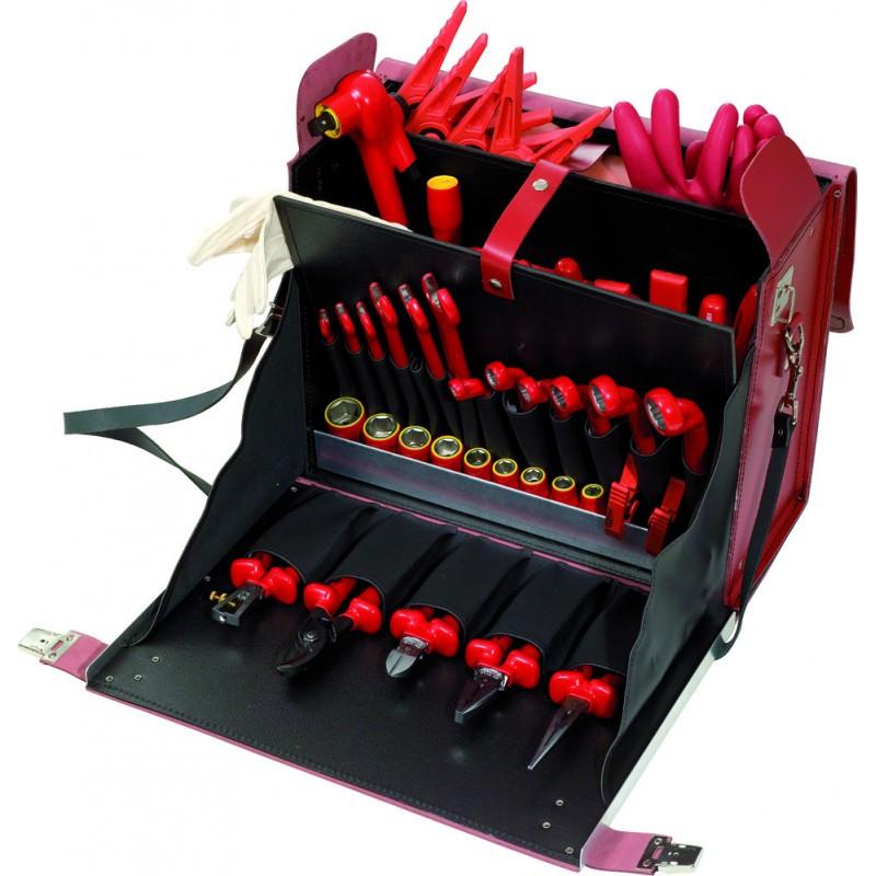 Sacoche d'outils d'électricien, 53 pièces KS TOOLS
