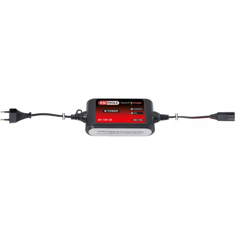 Chargeur de batterie 12V/2A KS TOOLS