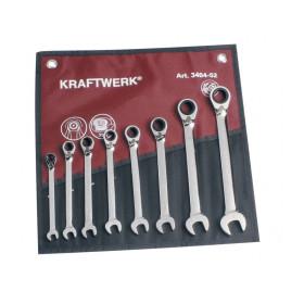 Trousse de 8 Clés à Cliquet Reversibles ClicKraft KRAFTWERK