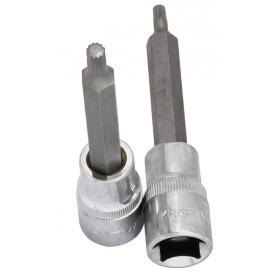 """Douille-embout à denture multiple XZN longue 1/2"""" 100 mm KRAFTWERK"""