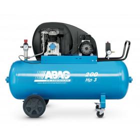 Compresseur d'air 200 L 3 Cv bi-cylindre ABAC