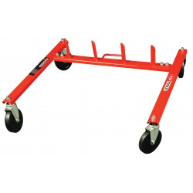 Support pour 4 chariots de manutention pour véhicule KS TOOLS