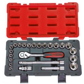 Coffret de douilles et accessoires ULTIMATE 1/2'', 24 pièces KS TOOLS
