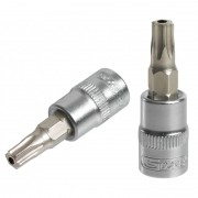 "Douilles tournevis ULTIMATE 1/4"" TORX percé KS TOOLS"