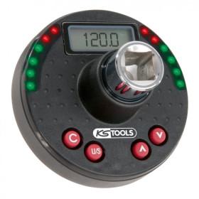 "Adaptateur couple 6.8-135 Nm et angle  1/2"" KS TOOLS"