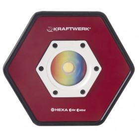 Spot alu Color-Control accu à LED COB 20 W KRAFTWERK