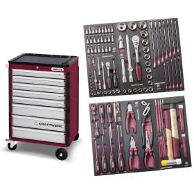 Servante d'atelier 8 tiroirs avec 104 outils COMPLETO EVA3 HIGHTECH KRAFTWERK