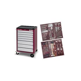 Servante 8 tiroirs HIGHTECH + 150 outils Kraftwerk