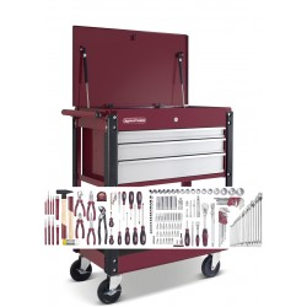 Chariot d'atelier + 160 outils Kraftwerk