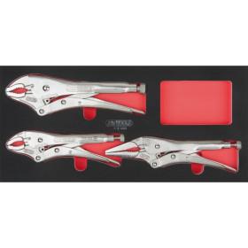 Module de pinces étaux GRIPfix Xtreme, 3 pièces KS TOOLS