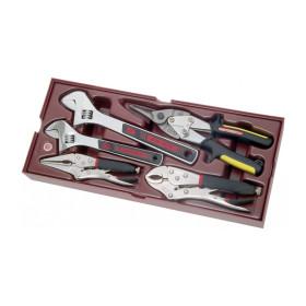 Coquille 5 pièces de clés à Molette et Pinces COMPLETO KRAFTWERK