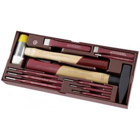 Coquille 11 Pièces d'outils de Frappe COMPLETO KRAFTWERK
