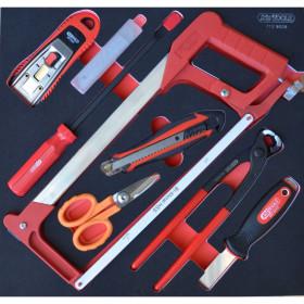 Module d'outils de coupe, 8 pièces KS TOOLS