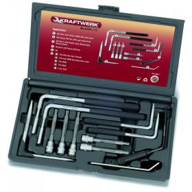 Coffret d'outils pour airbags 12 pièces KRAFTWERK