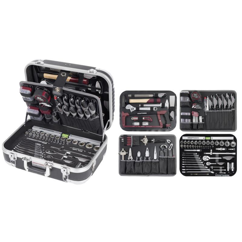 Malette d'outils en ABS B100 170 pcs KRAFTWERK