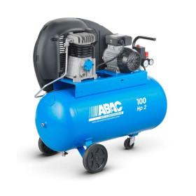 Compresseur d'air 100 L 3 Cv bi-cylindre ABAC