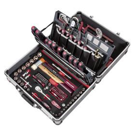 """Coffret d'outils professionnel P500, 3/8"""", Hightech, 154 pièces KRAFTWERK"""