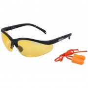 Lunettes de protection Design sportif avec protections auditives KS TOOLS