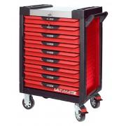 Servante 9 Tiroirs ULTIMATE Rouge KS TOOLS