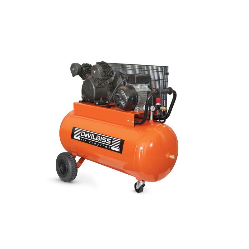 Compresseur à piston 3 Cv 100L DEVILBISS