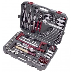 "Coffret d'outils Basic-Line,  1/4"" + 1/2"", 115 pcs KRAFTWERK"