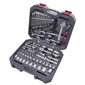 """Coffret d'outils universel Basic-Line, 1/4"""" + 1/2"""", 243 pièces KRAFTWERK"""