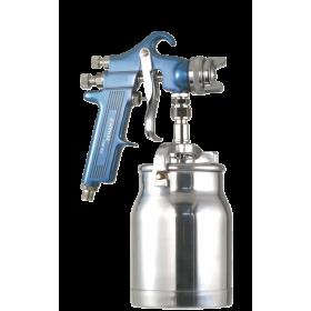 Pistolet de peinture par aspiration pour travaux industriels diamètre buse 2 mm Prevost
