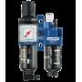 ALTO 1 - Filtre régulateur lubrificateur 2 blocs avec manomètre et fixation-KTB SM1-Prevost
