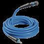 Rallonges de tuyau FLEXAIR en polymère hybride avec raccord rapide de sécurité prevoS1