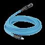 Rallonges de tuyau STOFLEX en caoutchouc anti-statique avec raccord rapide prevoS1