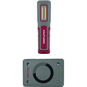 Lampe à main LED, WI600, rechargeable sans fil + Chargeur sans fil et connecteur USB de type C KRAFTWERK