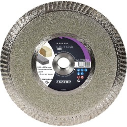 Disque Diamant et Carbure à segment 125 mm ULTRA 3D SIDAMO
