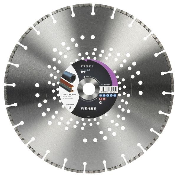 Disque Diamant et Carbure à segment PRO FT 350 mm Tronçonnage fonte SIDAMO