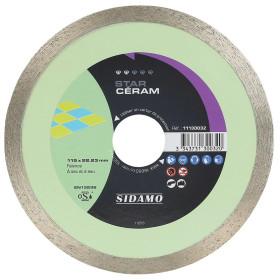 Disque Diamant et Carbure à couronne continue 115 mm STAR CÉRAM