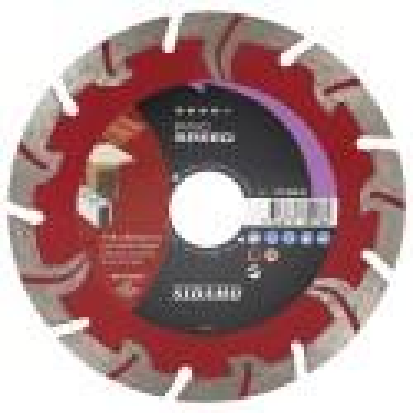 Disque Diamant à segment 115 mm Pro SPEED SIDAMO