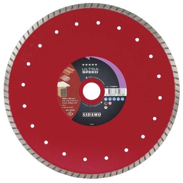 Disque diamant à segment 300 mm ULTRA SPEED SIDAMO