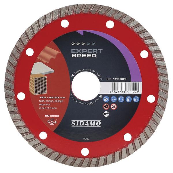 Disque Diamant à segment 125 mm EXPERT SPEED SIDAMO