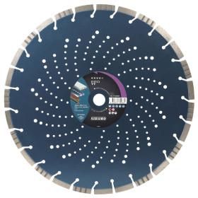 Disque Diamant à segment PRO TT 400 mm Tronçonnage béton/Asphalte/Acier SIDAMO