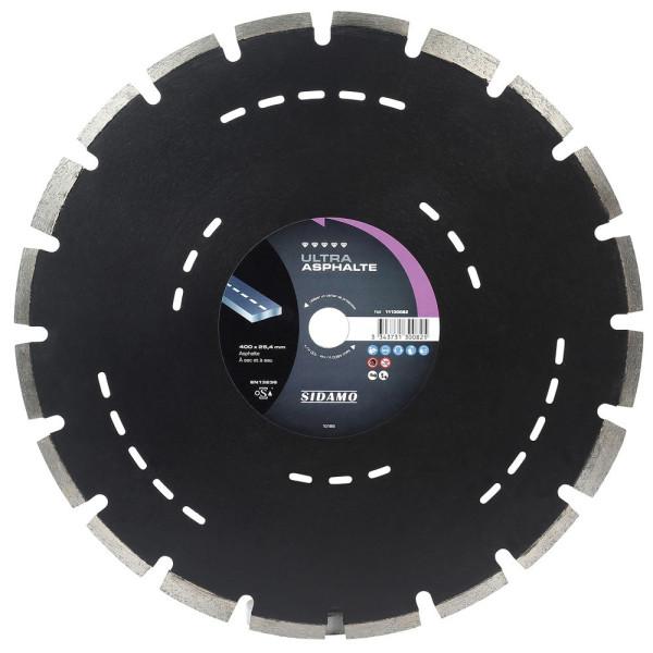 Disque diamant à segment 400 mm ULTRA ASPHALTE SIDAMO